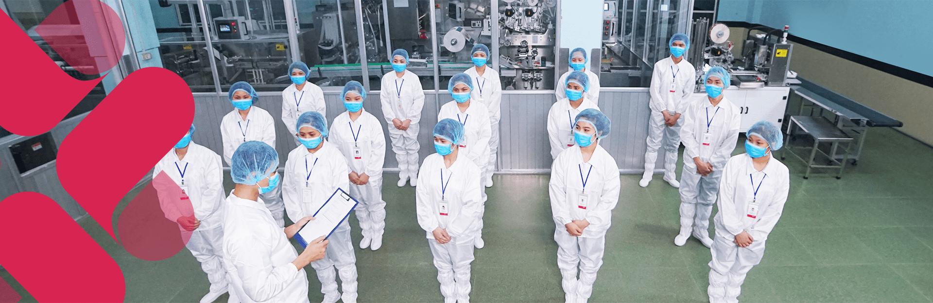 nhà máy và các chứng nhận